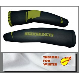 2012 LiveStrong Black Team Thermal Cycling Arm Warmer