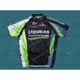 2011 Liquigas Cannondale Black Cycling Jersey