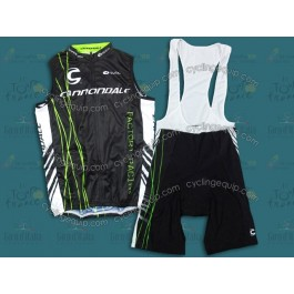 Cannondale Factory Racing Cycling Vest And Bib Shorts Set