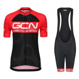 2017 GCN Team Fan Edition Women Cycling Jersey And Bib Shorts Kit