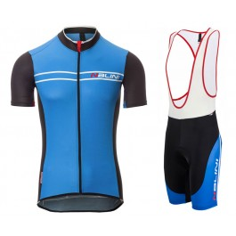 2017 Nalini Sinello Ti Blue Cycling Jersey And Bib Shorts Kit
