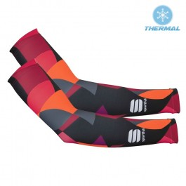 2017 Sportful Primavera Red Thermal Cycling Arm Warmer