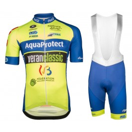 2018 WB Aqua Protect Veranclassic Cycling Jersey And Bib Shorts Kit