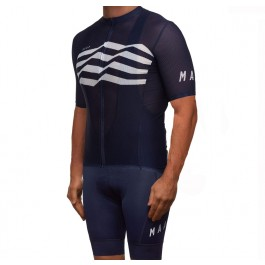 2019 MAAP M-Flag Ultra Blue Cycling Jersey And Bib Shorts Kit