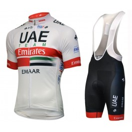 2019 UAE Team Cycling Jersey And Bib Shorts Kit
