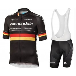 2019 Cannondale Factory Racing Germany Champion Cycling Jersey And Bib Shorts Kit