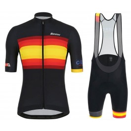 2019 Santini Tour de Spain Cycling Jersey And Bib Shorts Kit