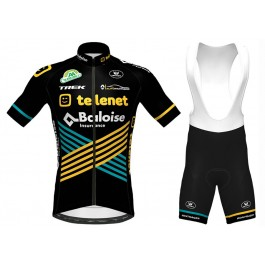 2020 Team TELENET Cycling Jersey And Bib Shorts Kit