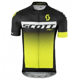 2017 Scott RC Black-Yellow Cycling Jerseys