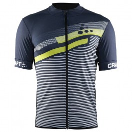 2018 Craft Reel Graphic Green-Grey Cycling Jersey