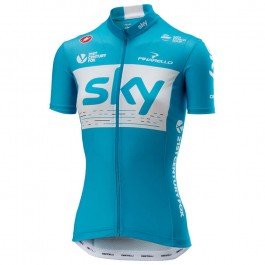 2018 Team SKY Women's Blue Cycling Jersey