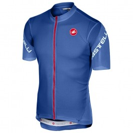 2018 Castelli Entrata 3 Blue Cycling Jersey