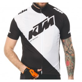 2018 KTM Black-White Cycling Jersey