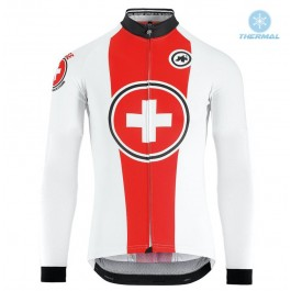 2018 ASOS SWISS Pro Thermal Long Sleeve Cycling Jersey