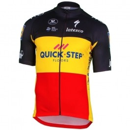 2018 Quick Step Belgium Champion Cycling Jersey