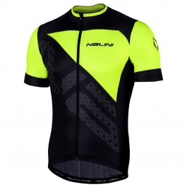 2019 Nalini Volata 2.0 Black-Yellow Cycling Jersey