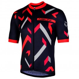 2019 Nalini Descesa 2.0 Black-Red Cycling Jersey