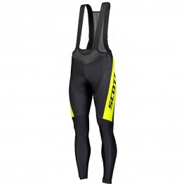 2019 Scott-RC PRO Black-Yellow Cycling Bib Pants