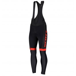 2019 Scott-RC-Team Black-Red Cycling Bib Pants