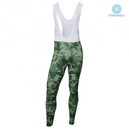 2018 Armee De Terre Camouflage Thermal Cycling Bib Pants