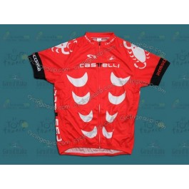 Castelli Red Cycling Jersey