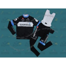 Garmin Cervelo Cycling Long Sleeve Jersey And Bib Pants Set