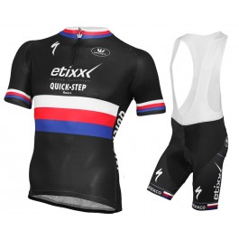 2015 Etixx Quick-Step Czech Champion Cycling Jersey And Bib Shorts ... c6f20870a