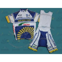 2012 Vacansoleil Pro Team Cycling Jersey And Bib Shorts Set