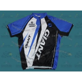 2012 Giant Sram Black And Blue Cycling Jersey