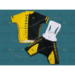 LiveStrong Black/Yellow Cycling Jersey