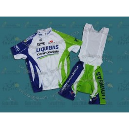 Liquigas 2011 Cycling Jersey And Bib Shorts Set