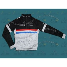 2011 Leopard Trek Luxembourg Champion Thermal Cycling Long Sleeve Jersey