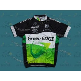 2012 GreenEDGE Black And White Cycling Jersey