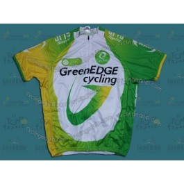 2012 Team GreenEDGE White/Green Cycling Jersey
