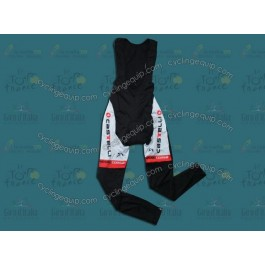 2012 Team Castelli White Thermal Cycling Bib Pants