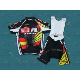 2012 WildWolf Trek Spain Champion Cycling Jersey And Bib Shorts Set