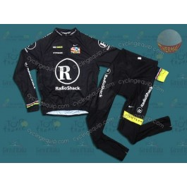 RadioShack Black R28 Thermal Cycling Long Sleeve Jersey And Pants Set