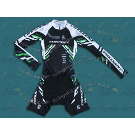 2014 Cannondale Black Long Sleeve Cycling Skinsuit Time Trail Skin Suits