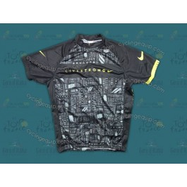 2012 LiveStrong Black Cycling Jersey