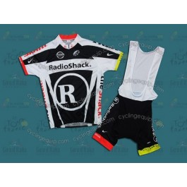 RadioShack 2011 Black Cycling Jersey And Bib Shorts Set