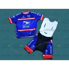 USPS Cycling Jersey And Bib Shorts Set