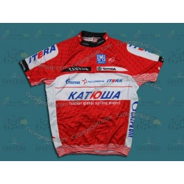 2012 Team Katusha Red Cycling Jersey