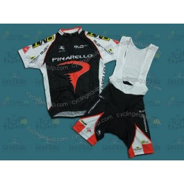 Pinarello Red Cycling Jersey And Bib Shorts Set