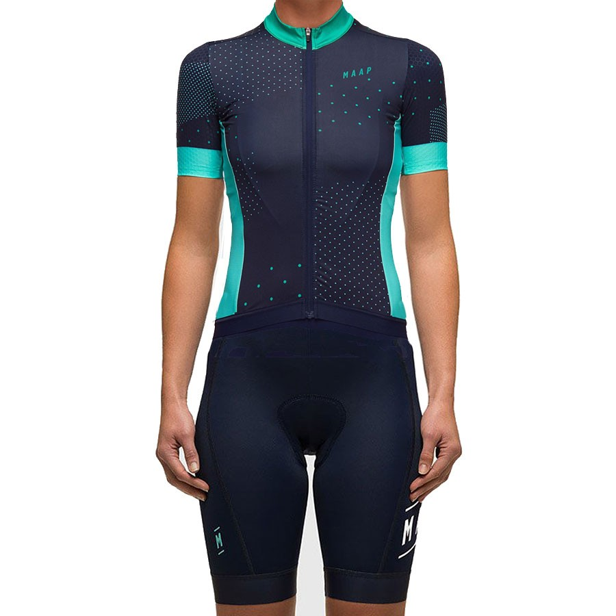 2017 Maap Women s Contact Cycling Jersey And Bib Shorts Kit  89a8fe9a6