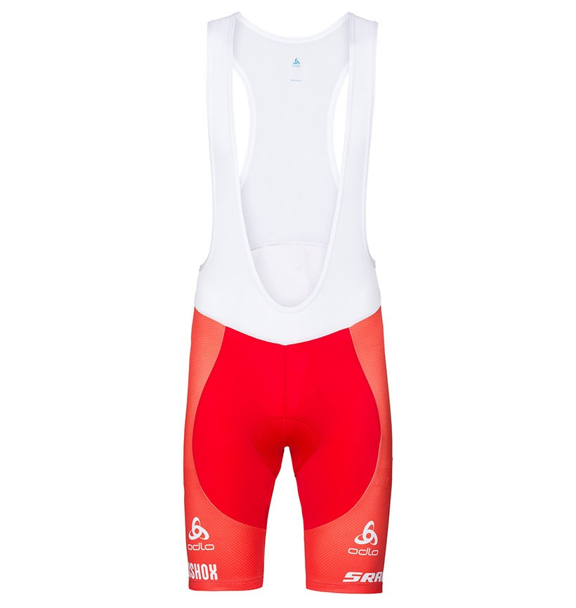 2017 Scott Sram Swiss Red Cycling Jersey And Bib Shorts Kit  ce24afcd0
