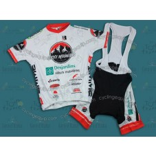2011 Rocky Mountain White Cycling Jersey And Bib Shorts Set