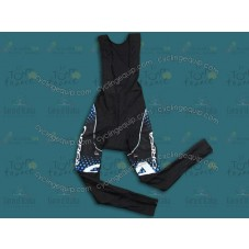 2011 Orbea Black and Blue Dot Cycling Bib Pants