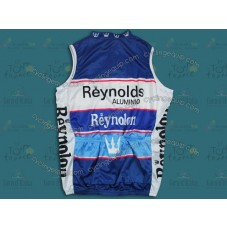 Reynolds Reynolon throwback Blue Cycling Vest