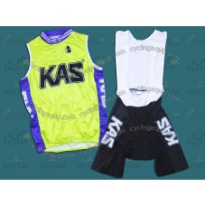 2011 Kas Kaskol Cycling Vest And Bib Shorts Set