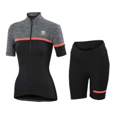 2017 Sportful Giara Women's Cycling Jersey And Shorts Set